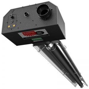 Detroit Radiant MP-40-80 Modulating Plus Tube Heater