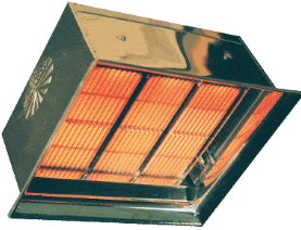 Detroit Radiant DR-90 High Intensity Gas-Fired Infrared Space Heaters