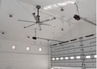 SkyBlade STOL-1030-657-3 STOL Series 6 Blade HVLS Ceiling Fan