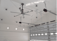 SkyBlade STOL-0824-646-3 STOL Series 6 Blade HVLS Ceiling Fan
